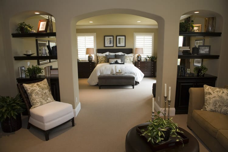 We Have Found A Master Bedroom For The Ages! These Rooms Comprise A Small  Portion Of An Extensive Master Bedroom Suite. Classic And Refined, The  Color ...