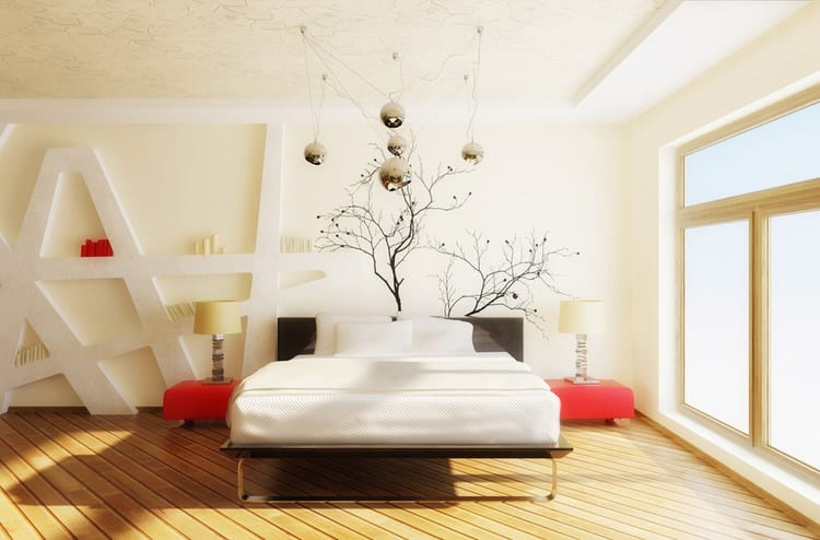 41 fantastic red and black bedrooms | interiorcharm