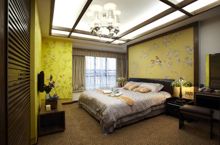 this fascinating bedroom takes in incredible views of modern beijing while embracing traditional chinese design the sleek wood furniture and architectural - Cool Bedrooms