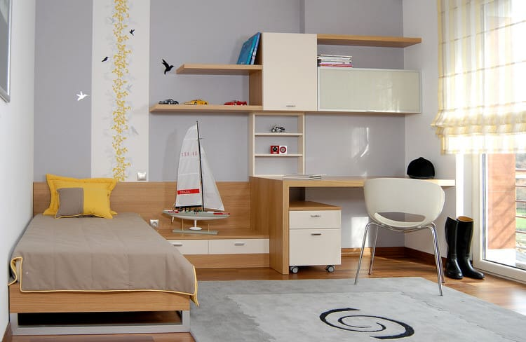 Modular Furniture Allows You To Grow With Your Kids. This Contemporary  Swedish Design Incorporates Lots Of Storage, Display Space And A Workspace  Into A ...