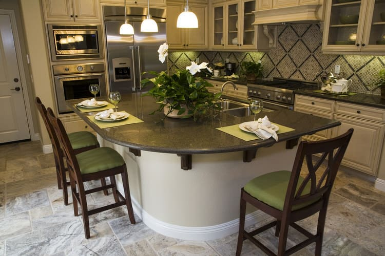36 eye catching kitchen islands interiorcharm - Picture Of Kitchen Islands