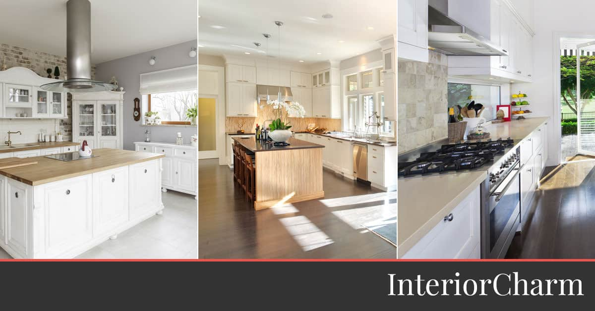 30 Stunning Luxury Kitchens Page 7 Of 7 Interiorcharm