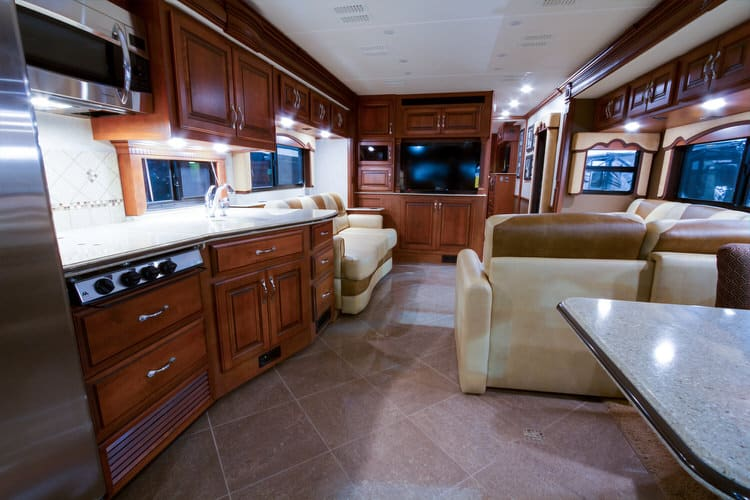 Itu0027s Time To Hit The Road In This Tricked Out RV Kitchen. Manufacturers  Realize The New Generation Of Highway Adventurers Demand The Same Quality  And ...