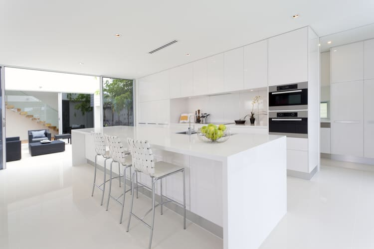 Bright Kitchens 49 wonderful white bright kitchens | interiorcharm