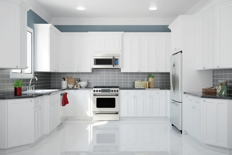 Design Kitchens With White Cabinets