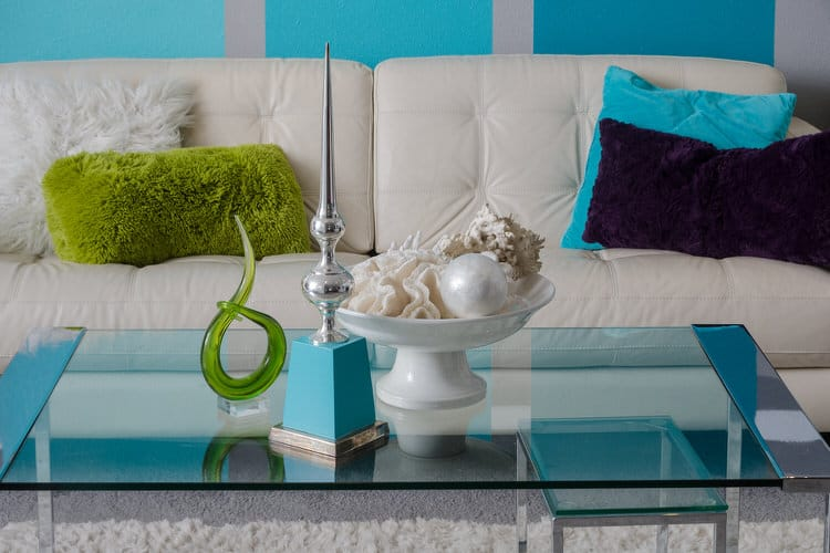 Teal Accessories For Living Room