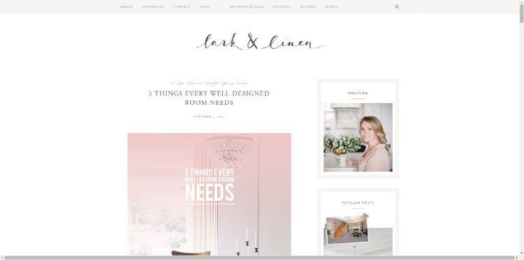 Lark Linen Is The Brainchild Of Jacquelyn Clark And She Always Comes Through With Invaluable Blog Posts Like This One If You Are Embarking On A Room