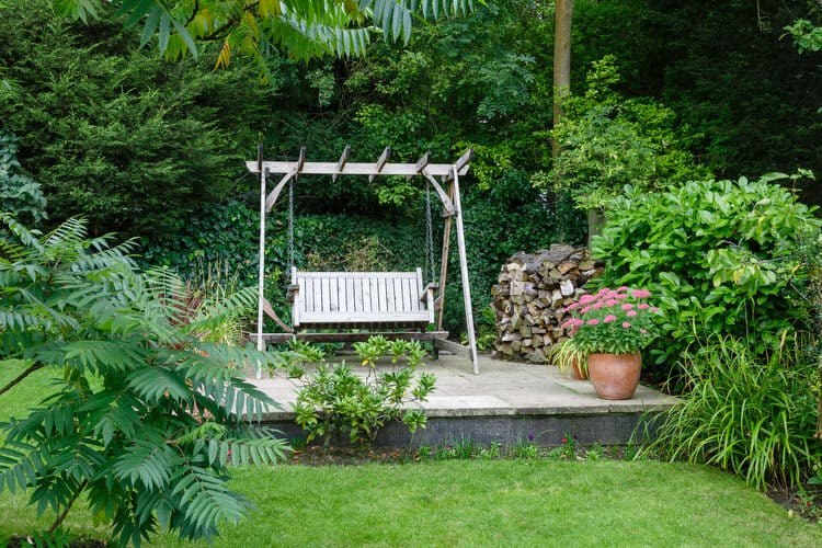 Enjoy The Gentle Back And Forth Motion Of An Outdoor Swing In Your Backyard  Garden. Theyu0027re Downright Relaxing And Provide A Wonderful Place To  Daydream And ...