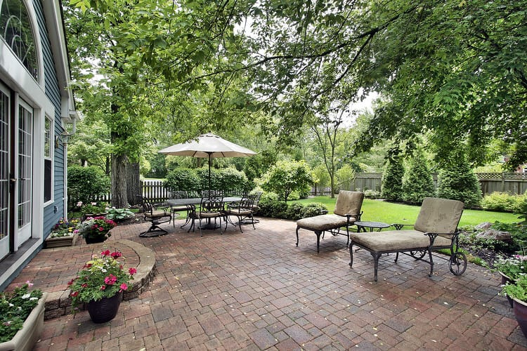 Transform An Unused Area Of Your Yard Into A Welcoming Patio By Installing  An Attractive Pad With Pavers, Flagstone, Gravel, Wood Or Poured Concrete.  Select ...