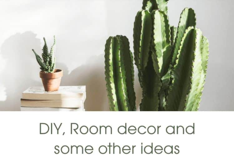 This is the place for fun and playful room decor ideas. There are plenty of projects here that will make your space shine with personality and creativity. These projects let you run wild with your imagination. You are sure to find the perfect project to add a bit of extra decoration with this blog.