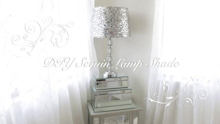 Here is a DIY project that brings some fancy to your lighting fixtures. Adding sequins to your objects brings sparkle to your life and brightens up your day. Use this project to elevate your lampshade bling game.
