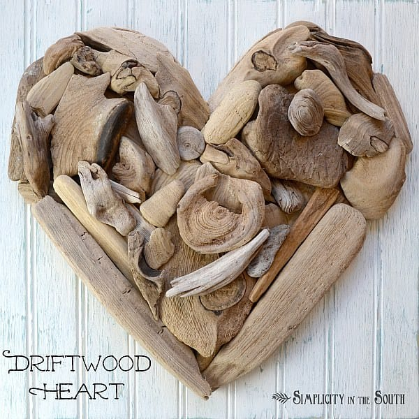 Using found driftwood, you can make lovely designs. Use this project to add a nice rustic element to your beach house or oceanside villa. It harkens to the waves and the sand and is amazing for bringing that feeling inside your home.
