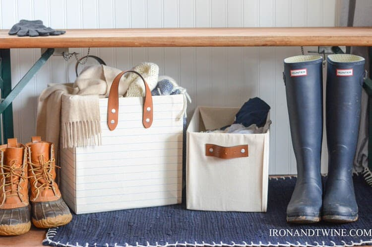 With a cardboard box and a few other materials you can make a beautiful and useful bin. This is an affordable way to provide yourself with great organizational solutions. These homemade DIY bins rival the kinds of bins you may find in a store.