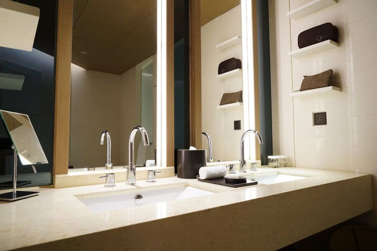 A Modern Bathroom Vanity Can Add A Sleek And Elegant Design Element To Your  Luxury Bathroom. The Minimal Design And Understated Hardware Are A Good  Choice ...