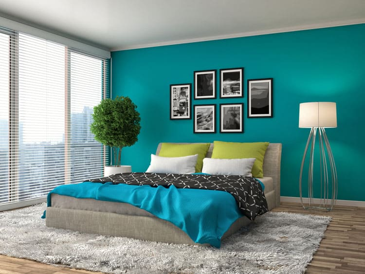 48 Beautiful Blue Bedrooms PICTURES 😍 Simple Blue Bedrooms