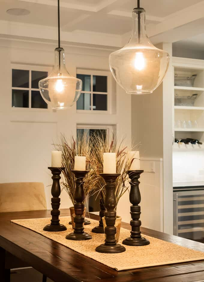 Use Unique Pendant Lighting As A Signature Look For Your Kitchen. Shapely  Blown Glass Fixtures Are Elegant And Versatile Enough To Go With Almost Any  Style.