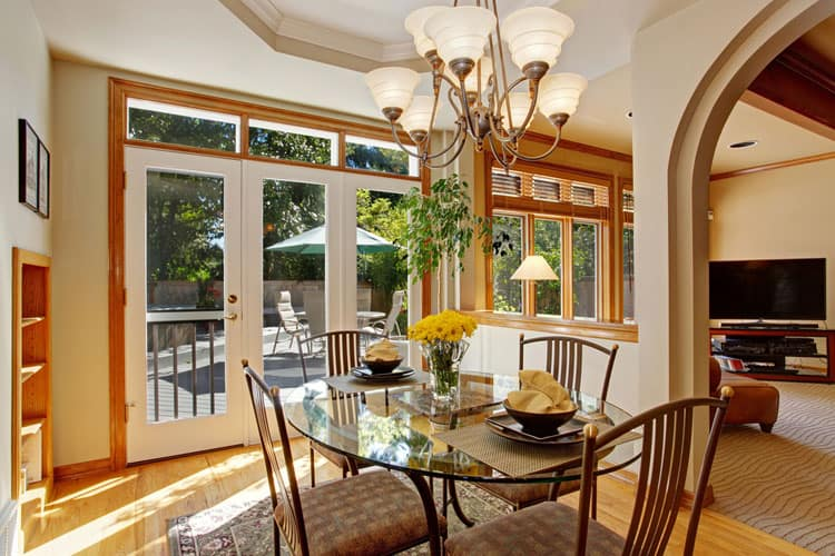 29 Glamorous Glass Dining Room Tables Pictures
