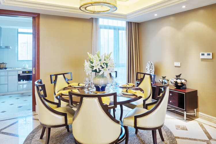 More Interior Design Ideas 29 Glamorous Glass Dining Room Tables