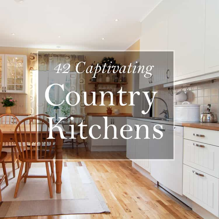 42 Captivating Country Kitchens Pictures