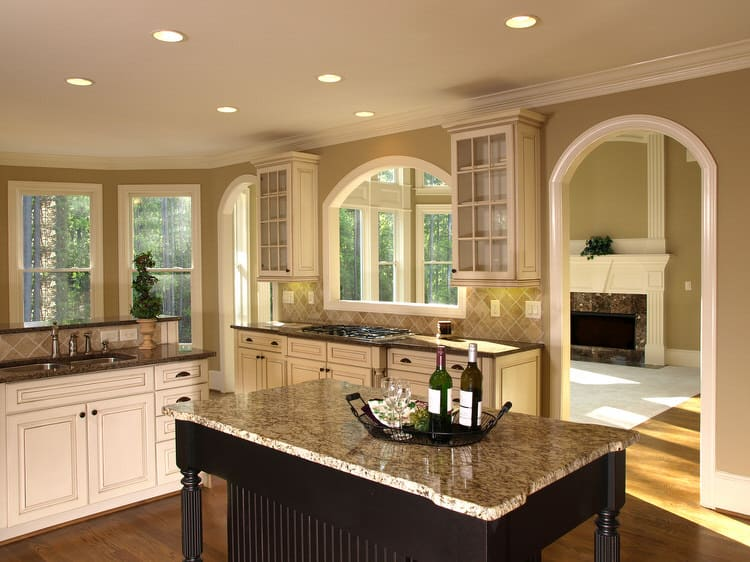 Kitchen Islands Add Beauty Function And Value To The: Simple Kitchen Decorating Ideas (PICTURES