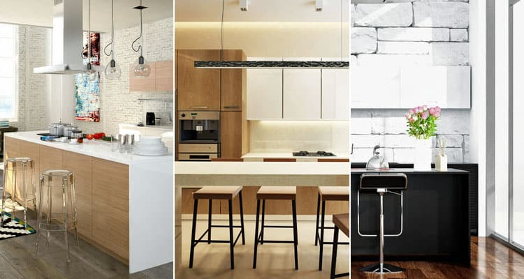 48 Modern Contemporary Kitchens Pictures Fascinating Modern Designer Kitchens