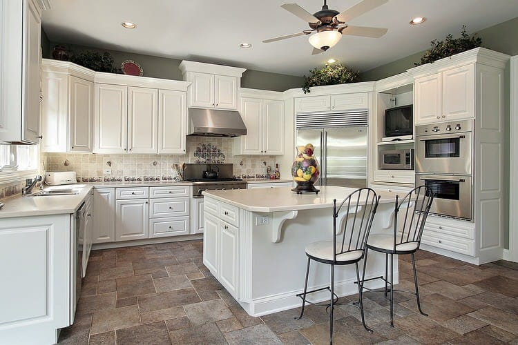 Wonderful White Bright Kitchens Pictures - Images of kitchens with white cabinets