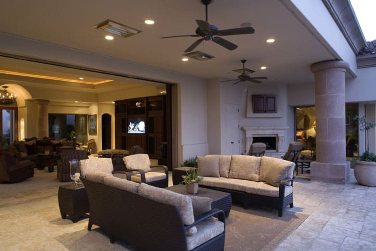 16 Living Rooms With Ceiling Fans Pictures