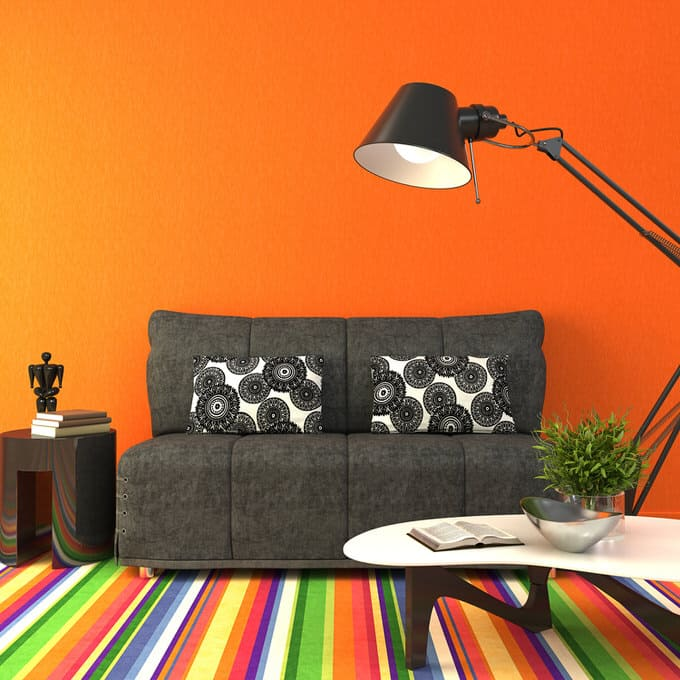 Wall Colour Inspiration: Colorful Living Room-45 Best Samples (PICTURES