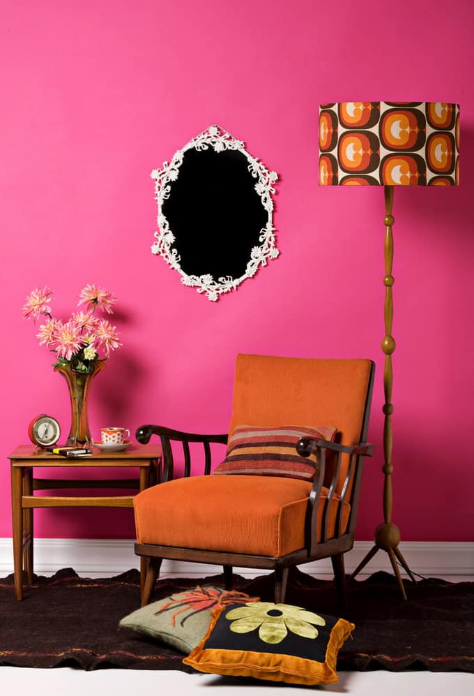 45 Colorful Living Rooms (Pictures)
