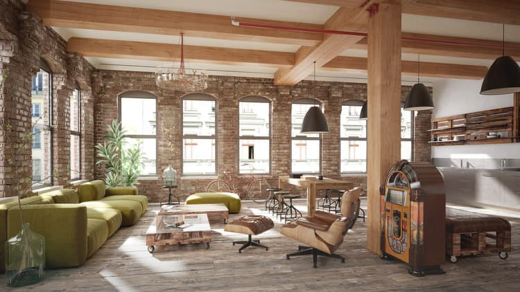Having Exposed Stone Or Brick In Your Historic Home Loft Is Like Winning The Lottery Without Much Effort On Part Place Probably Looks Amazing