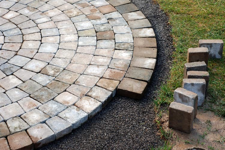 Donu0027t Have A Patio Surface? Create One In A Weekend With An Underlayment Of  Crushed Stone, Patio Pavers And Sand For Filler. A Mortarless Paver Patio  Is As ...
