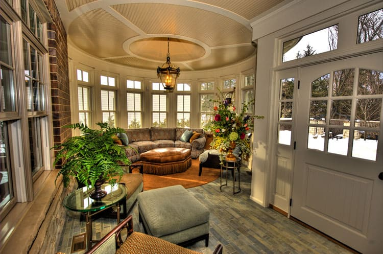 High Style & 23 Serene Sunrooms (Let the Sun Shine In!) (Pictures)